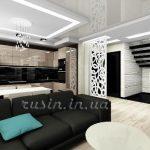 гостиная современный дизайн