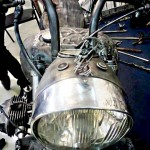 кованый мотоцикл фото