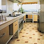 Выбор напольной плитки на кухню