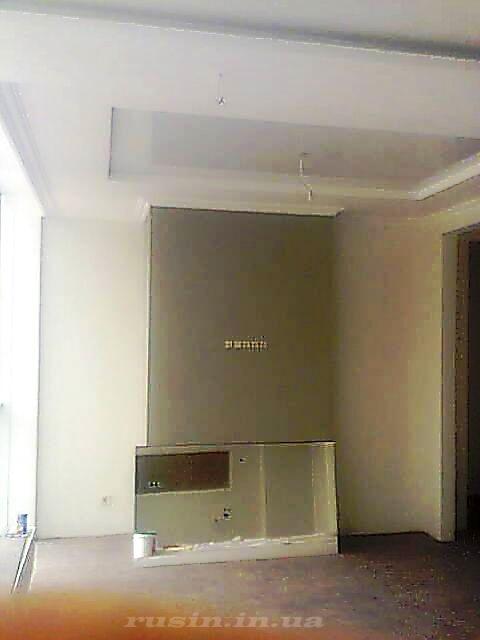 фото отделки стен в квартиры студии