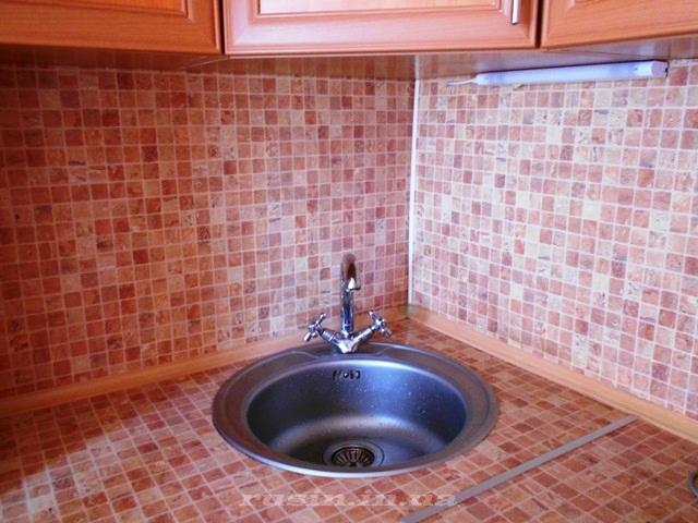 кухонный фартук из МДФ фото
