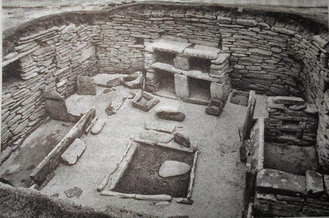 каменное жилище карликов