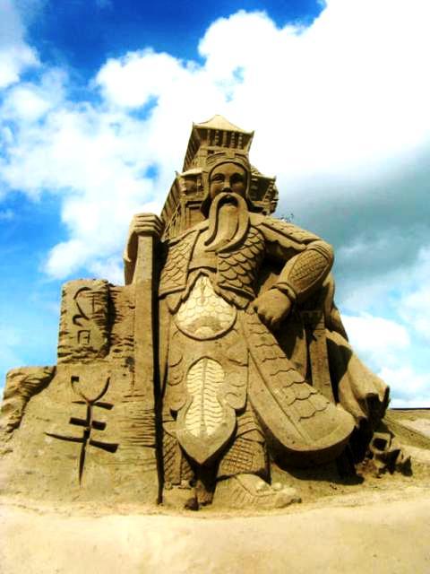 песчаный отель