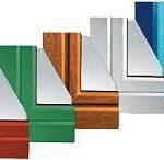 цветное окно ПВХ