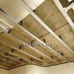 ремонтные работы потолок фото