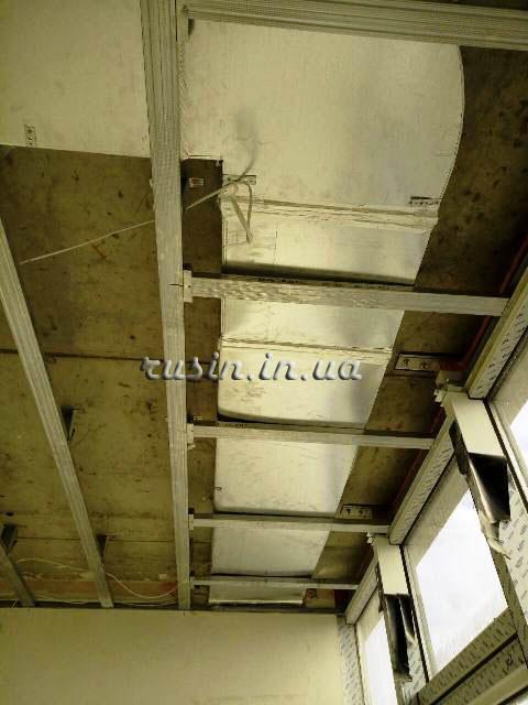 фото ремонта потолка