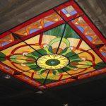 навесной стеклянный потолок