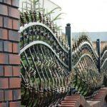 кованая ограда фото