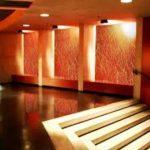 Стеклянные стеновые панели в интерьере