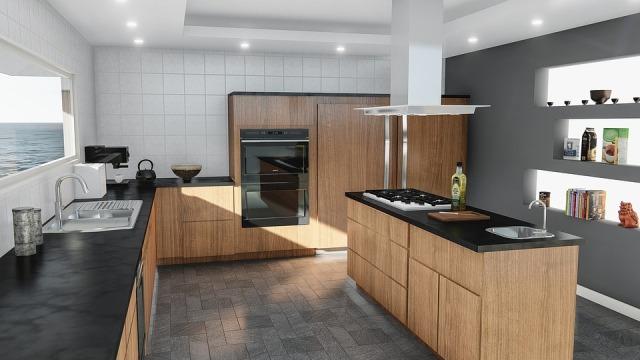 кухня плитка фото