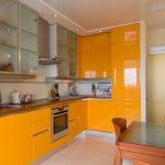 глянцевая кухня фото