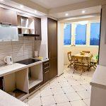 Как расширить кухню за счет балкона