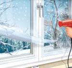 термопленка на окна как наклеить