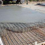 бетоный навес