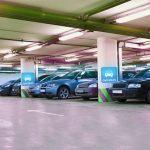 бетонная парковка фото