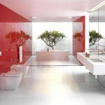 зеркальные панели в ванную