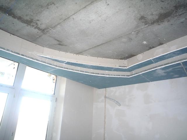 многоуровневый гипсокартонный потолок