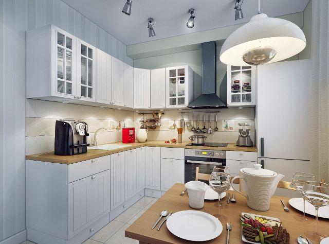 кухня спот лампа