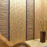 бамбуковые обои поклейка