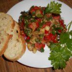 салат рецепт из баклажан