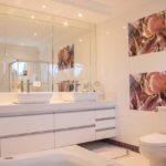 современный ремонт ванная
