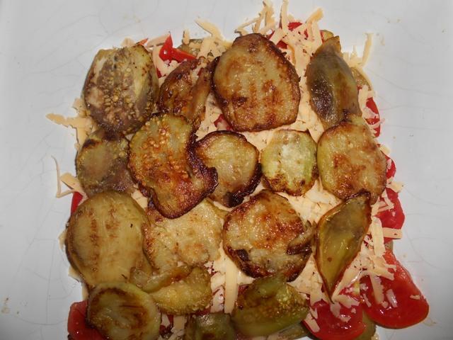 рецепт овощной запеканки с баклажнами