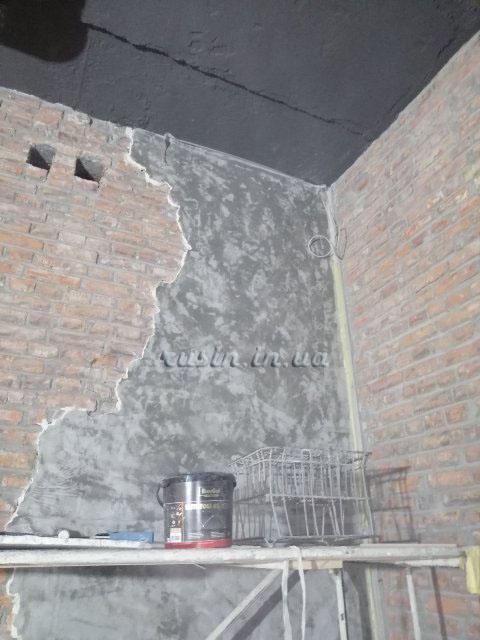 стена в стиле лофт