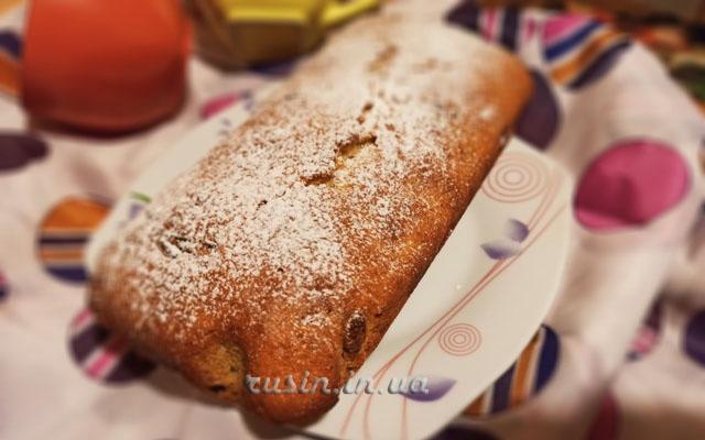 рецепт кекса с духовке