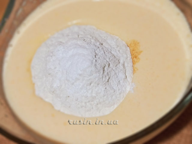 тыквенный кекс в духовке