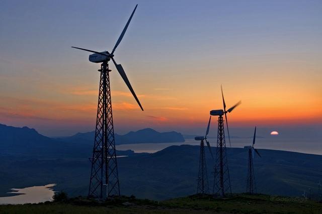 фундамент ветрогенератор