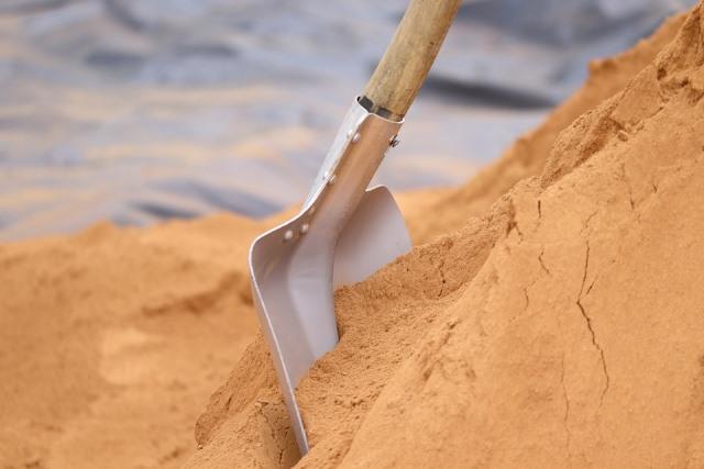 какой песок для стяжки