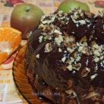 Корж для торта на растительном масле