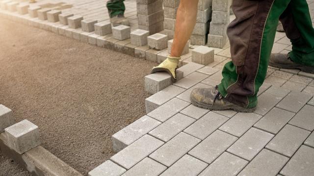 песок для укладки тротуарной плитки
