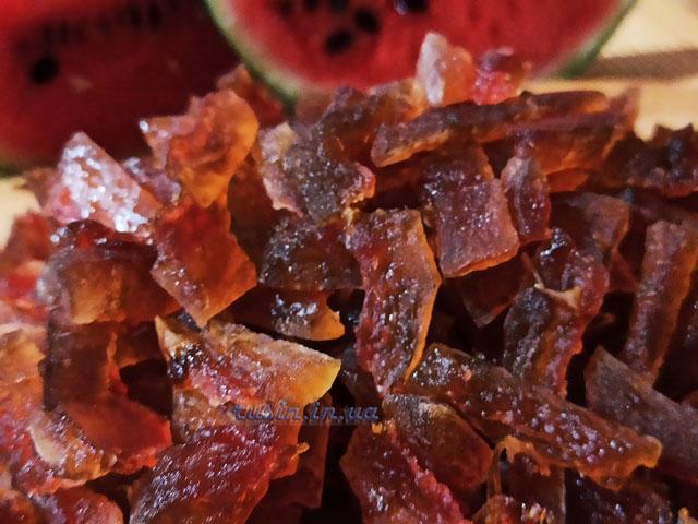 как сделать арбузные цукаты