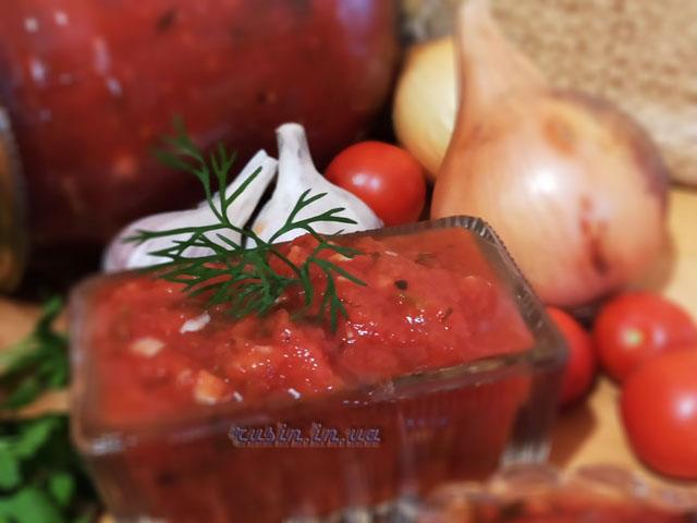 соус из помидоров и лука