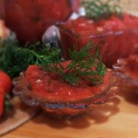 соус из томатов и лука
