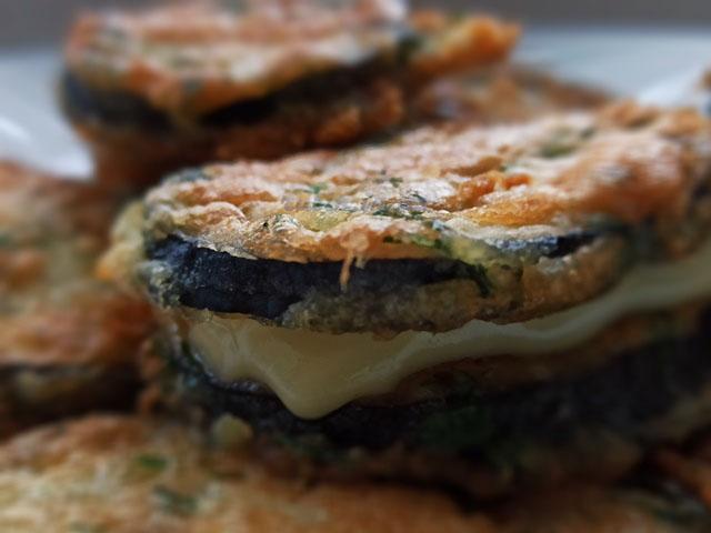 рецепт жареных баклажан в кляре
